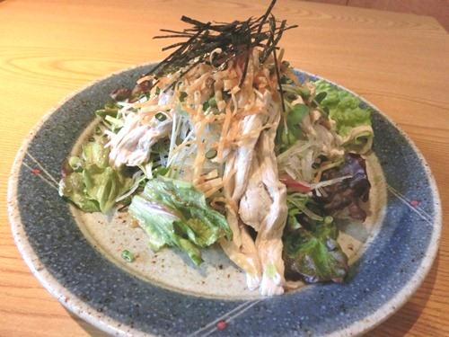 柚子庵⑧湯葉サラダ