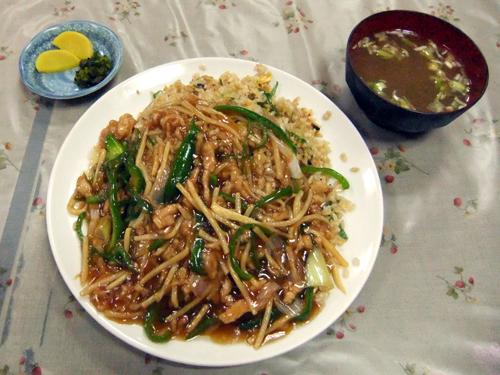 中華料理 博楽3ルースーチャーハン