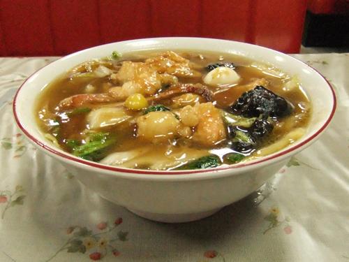 中華料理 博楽5五目うま煮ソバ(広東メン)
