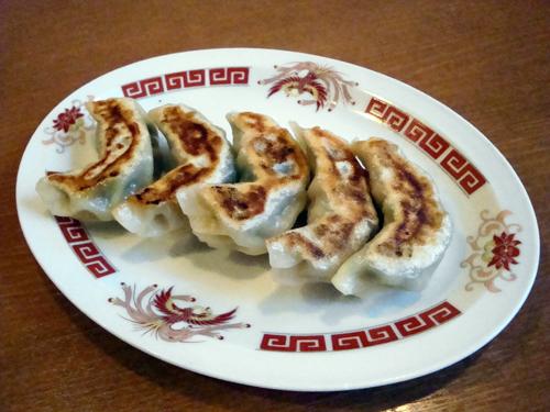 同福飯店5手作り餃子