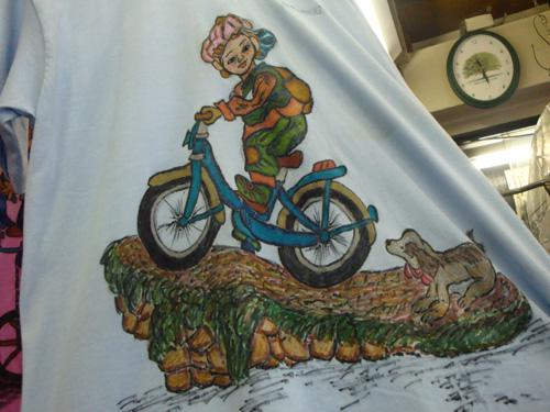 木下サイクルスポーツ6先代の絵