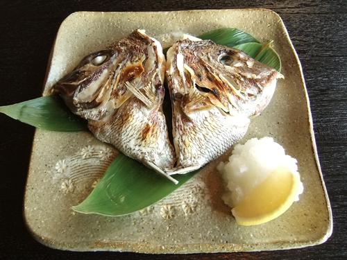 来龍虎4鯛カブト塩焼