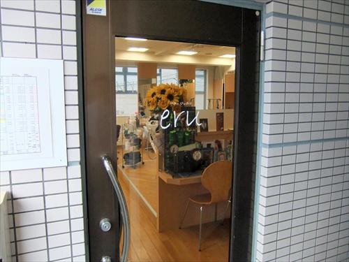 Hair studio eru 1店頭