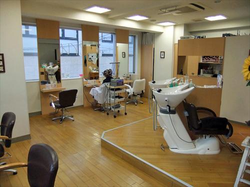 Hair studio eru 4店内2